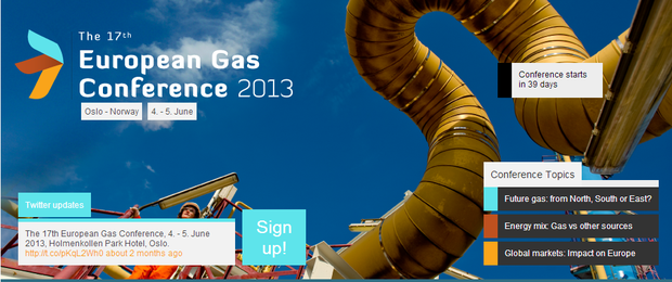 European Gas Conference 2013