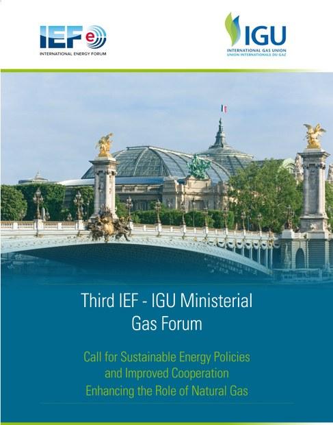 IEF-IGU Ministerial Forum