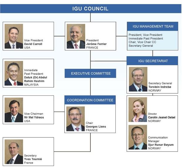 IGU Organistation 2012-2015