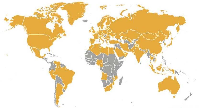 IGU Members Map