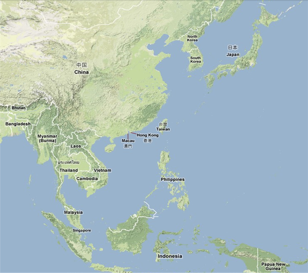 Southeast Northeast Asia