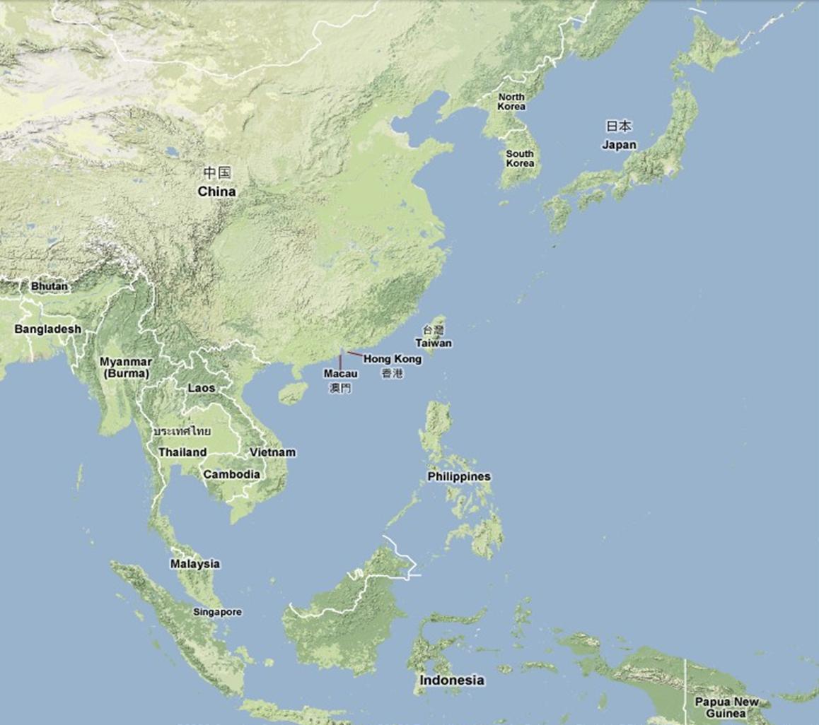 Southeast Northeast Asia