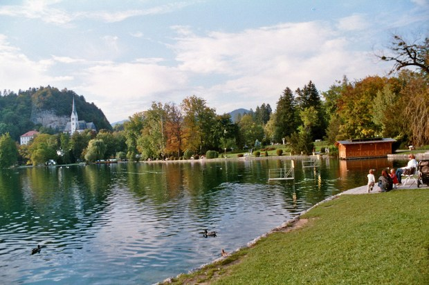 Lake Bled: the promenade